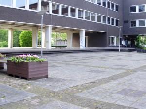 Town Hall – courtyard, Genk, Belgium